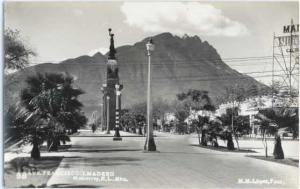 RPPC of Ave. Francisco I.Madero in Monterrey N.L. Mexico