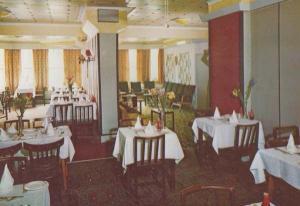 Restaurant Dining Room Russells Hotel Cambridge Road Eastbourne 1970s Postcard