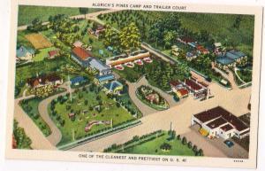 Aldrich's Pines Camp Cottages & Trailer Court, Valdosta Ga