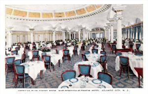 New Jersey Atlantic City , Marlborough-Blenheim Hotel , Dining Room