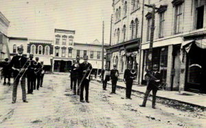 Whitewater, Wisconsin - Recreation of the City Band from the early 1900s