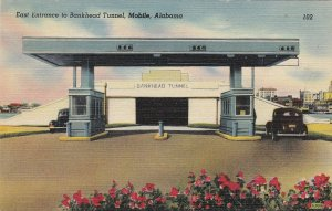 Alabama Mobile East Entrance To Bankhead Tunnel sk6564