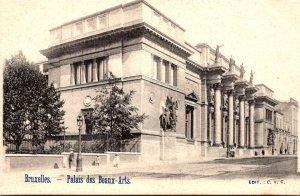 Belgium Brussels Palais des Beaux-Arts