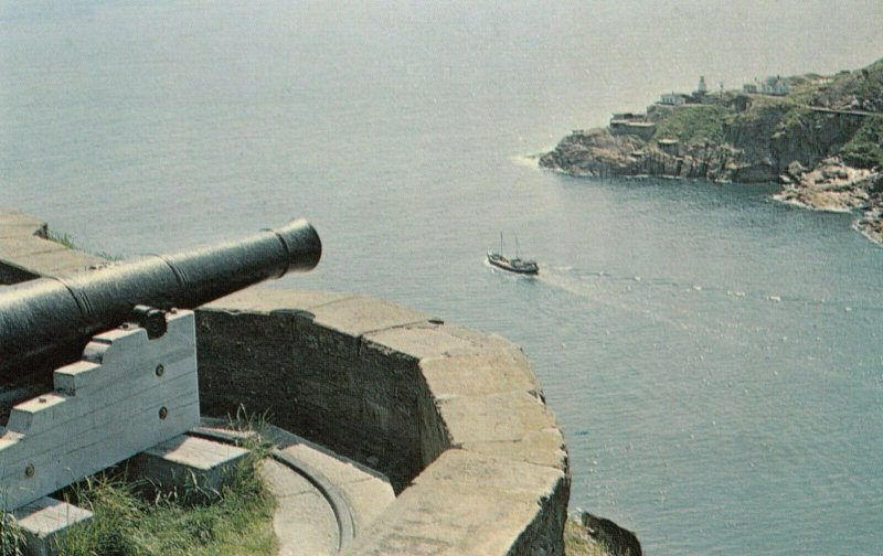 ST JOHN's, Newfoundland, Canada, 1950-60s ; Queen's Battery