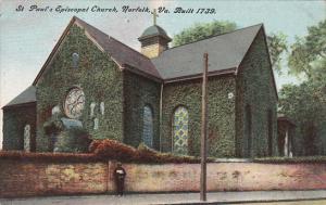 St Paul's Episcopal Church 1909 Norfolk Virginia