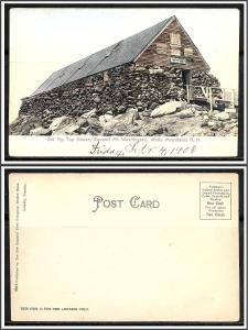 New Hampshire White Mountains Tip Top House Undivided - [NH-156]