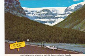 Canada Stutfield Glacier Columbia Icefield Jasper Alberta