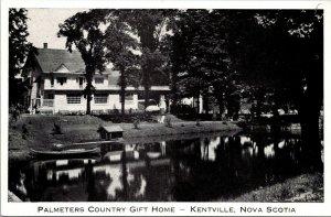Palmeters County Gift Home Kentville Nova Scotia Postcard