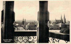 Czech Republic Vysoké Mýto Náměstí RPPC 06.95