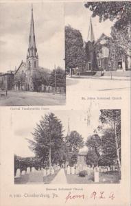 Pennsylvania Chambersburg Central Presbyterian St Johns Reformed & German...
