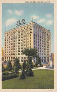 Minneapolis Rochester Hotel Kahler Curteich