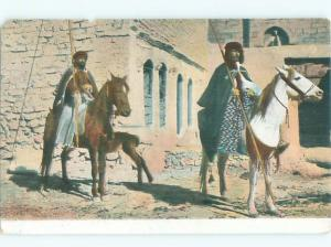 Divided-Back HORSE SCENE Great Postcard AA9397
