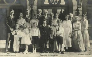 Swedish Royal Family (1918) RPPC