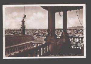 088940 SYRIA Damas minaret de Jesus et Panorama Vintage PC