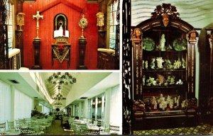 Florida Fort Lauderdale Creighton's Restaurant & Museum Of Antiques 1987