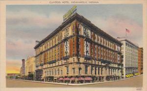 Indiana Indianapolis The Claypool Hotel
