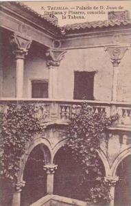 Spain Trujillo Palacio de D Juan de Orellana y Pizarro