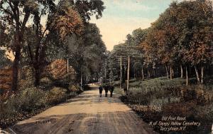 N.Y. Tarrytown, Old Post Road N. of Sleepy Hollow Cemetery Souvenir
