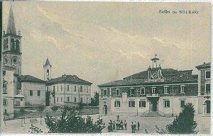 29010  CARTOLINA d'Epoca - ALESSANDRIA provincia - Solero 1930