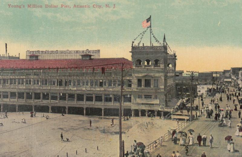 ATLANTIC CITY , New Jersey , 00-10s ; Young's Million Dollar Pier