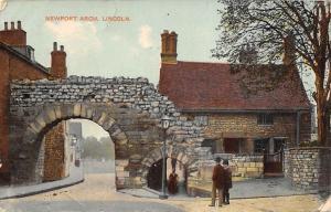 England Lincoln, Newport Arch 1911