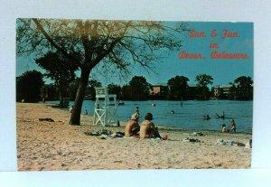 Dover Delaware Silver Lake Postcard