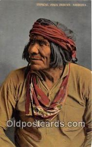 Arizona, USA Postcard Post Card Typical Pima Indian