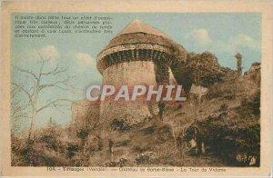 Old Postcard Tiffauges Vendee - Ch�teau Bluebeard - The Tower of Viscount