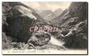 Old Postcard Vallee De Luz Luz Gavarnie Chaos