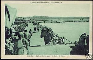 iraq MOSUL MOSSOUL, Pontoon Bridge, Plain of Ninive 20s