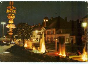 Austria, Kindberger Wasserspiele, Murztal, Steiermark, 1972 used Postcard