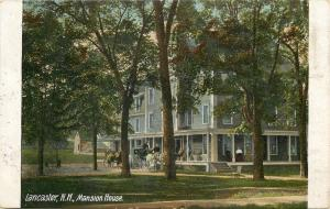 Lancaster New Hampshire~Mansion House~Winnie Earns Her 2c Here~1911 Postcard