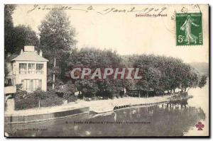 Joinville le Pont Old Postcard