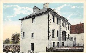 Virginia  Alexandria,   Carlyle House,