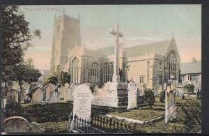 Devon Postcard - Paignton Church    RS2583