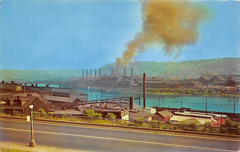 Steel Mills of Pittsburgh  Pittsburgh, Pennsylvania PA