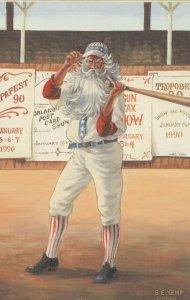 S.E. KEMP : 1990 , Uncle Sam Goes to Spring Baseball Training!