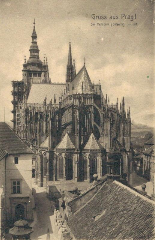 Czech Republic Gruss aus Prag Der Veitsdom 02.59