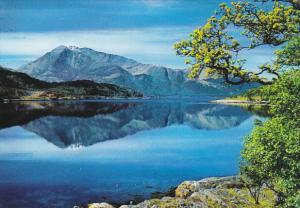 Scotland Argyllshire Beinn Vair and Loch Leven