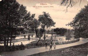 The 2 Ponds at Queens Park Glasgow Scotland, UK Unused