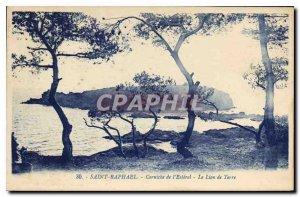 Postcard Old Saint Raphael Corniche Esterel Le Lion de Terre