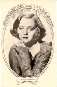 Tallulah Bankhead Actor / Actress Postcard Post Card Old Vintage Antique Movi...