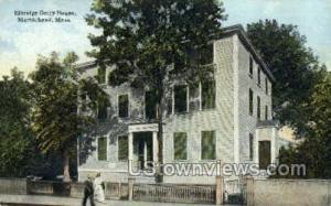 Elbridge Gerry House Marblehead MA Unused