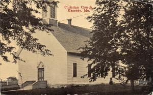 F30/ Kearney Missouri Postcard c1910 Christian Church