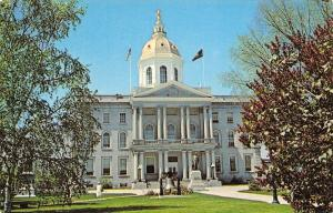 Concord New Hampshire~The State House~1960 Postcard