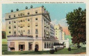 WHITE SULPHER SPRINGS , West Virginia, 1910s ; Ashford General Hospital