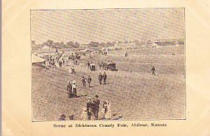 Kansas - Scene at Dickinson County Fair - Abilene