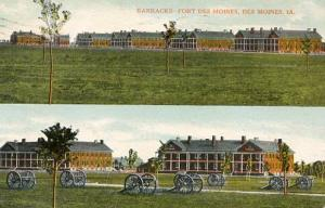 IA - Fort Des Moines. Barracks