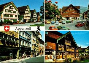 Switzerland Appenzell Malerische Dorfpartien
