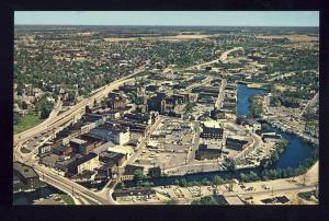 Salisbury, Maryland/MD Postcard, Aerial View Of Northeast Business District
